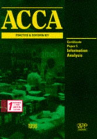 Download ACCA Practice and Revision Kit (Acca Practice & Revision Kit)