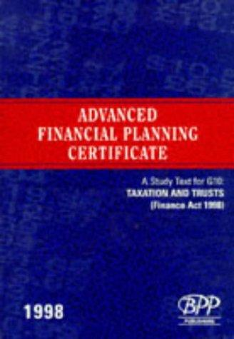 Download Advanced Financial Planning Certificate