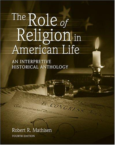 The role of religion in american Life