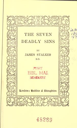The seven deadly sins.
