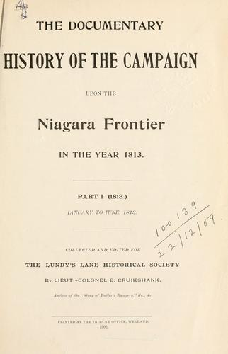 Download The documentary history of the campaign upon the Niagara frontier …