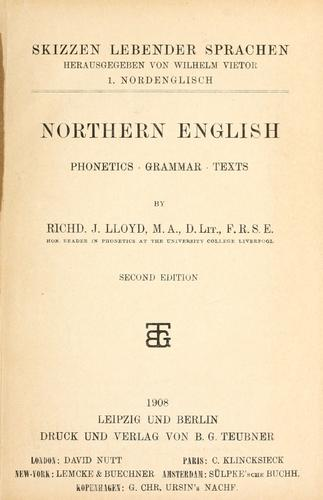 Download Northern English