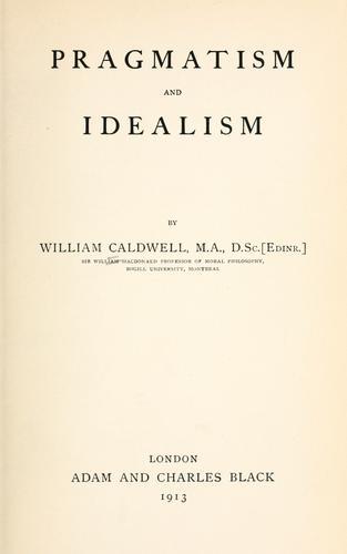 Pragmatism and idealism