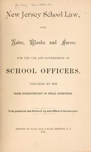 Download New Jersey school law
