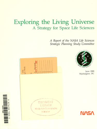 Download Exploring the living universe