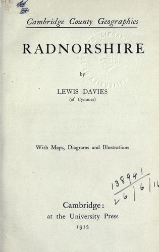 Radnorshire.