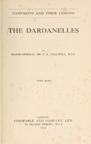 Download The Dardanelles