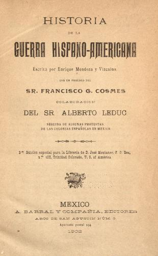 Download Historia de la guerra hispano-americana