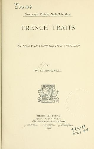 Download French traits