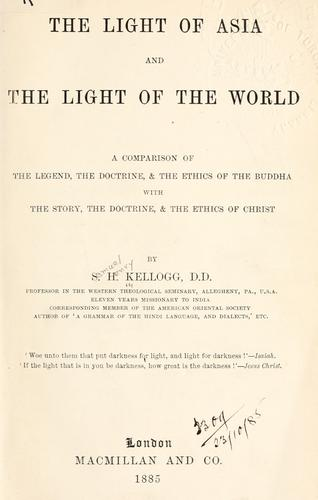 Download The Light of Asia, and the Light of the World