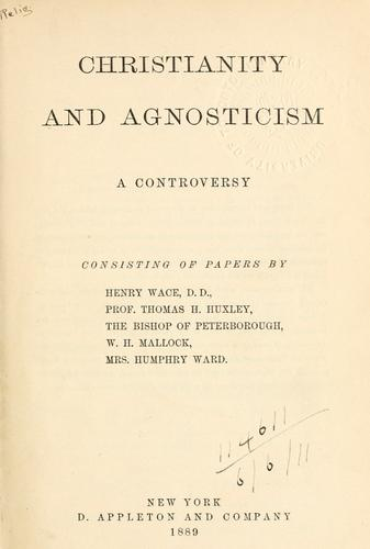 Download Christianity and agnosticism