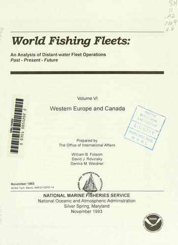 World fishing fleets