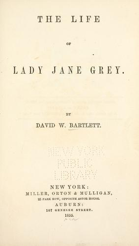 Download The life of Lady Jane Grey