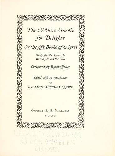 Download The muses gardin for delights