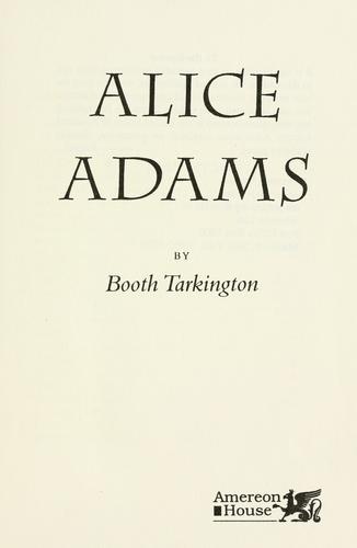 Alice Adams.