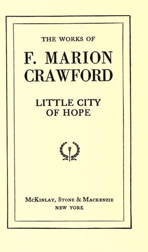 Little city of hope