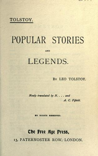 Popular stories and legends