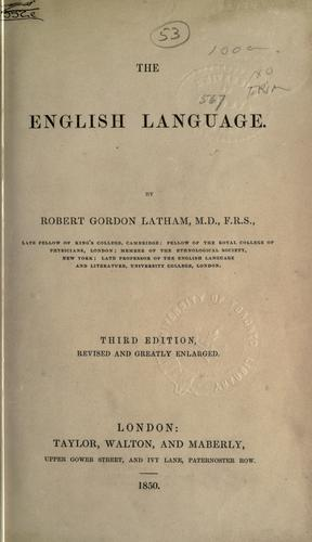 Download The English language.