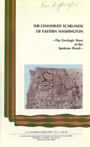 Download The channeled scablands of Eastern Washington