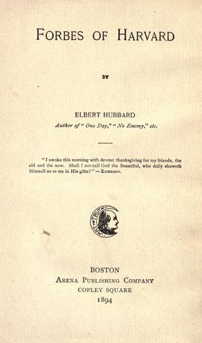Forbes of Harvard.