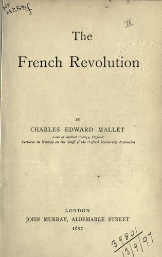 Download The French Revolution.