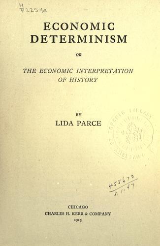 Download Economic determinism