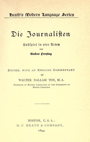 Download Die journalisten