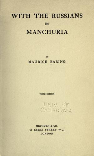 Download With the Russians in Manchuria