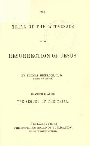 Download The resurrection of Jesus.