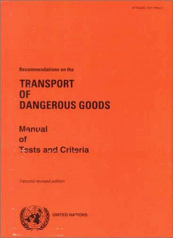 Download Recommendations on the Transport of Dangerous Goods
