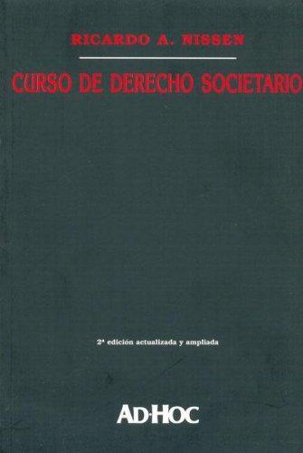 Download Curso de Derecho Societario