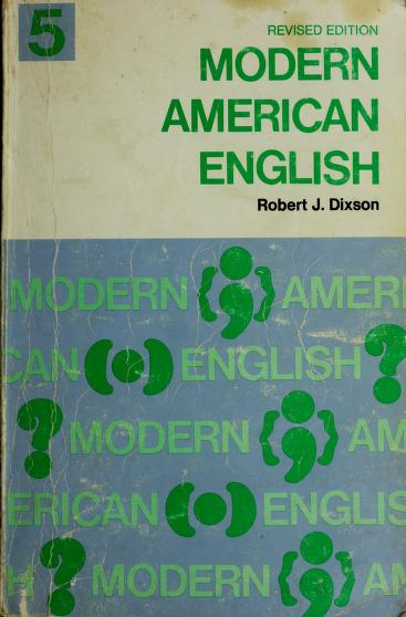 Dixson English series by Robert James Dixson