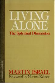 Cover of: Living Alone | Martin Israel