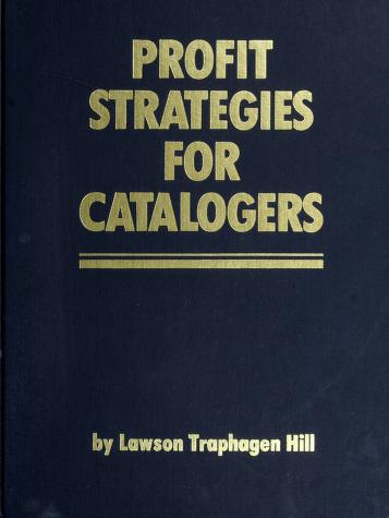 Cover of: Profit Strategies for Catalogers | Trap Hill