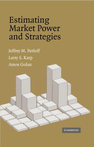 Estimating Market Power and Strategies