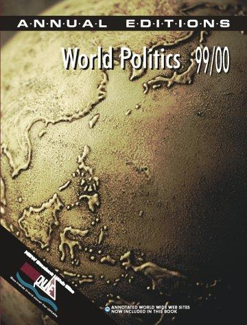 World Politics 99/00 (World Politics, 1999-2000) by Helen E. Purkitt