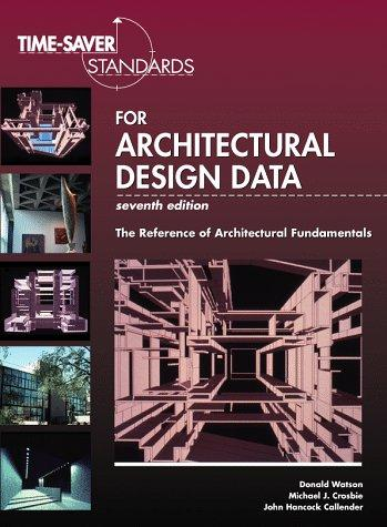 Time-saver standards for architectural design data by