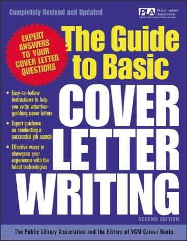 The guide to basic cover letter writing by