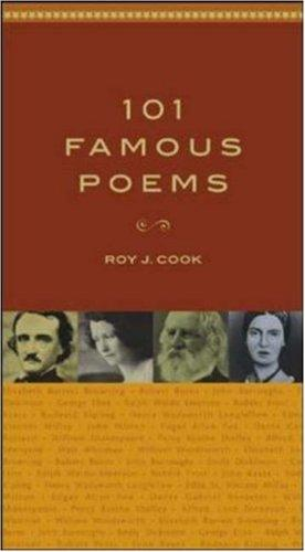 101 famous poems by [compiled by] Roy J. Cook.