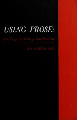 Using prose by Donald Woodward Lee