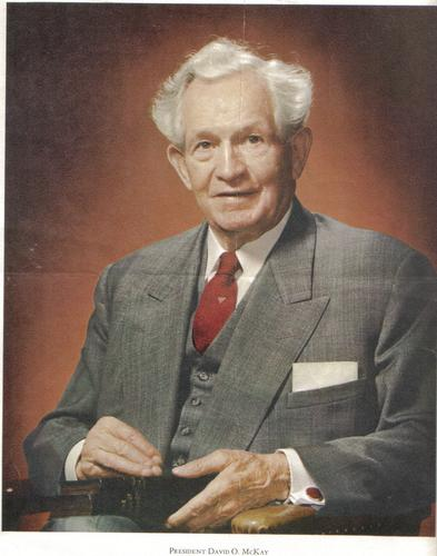 Photo of David Oman McKay