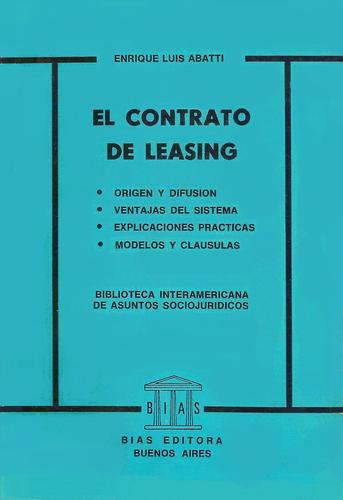 EL CONTRATO DE LEASING by