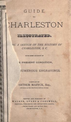 Guide to Charleston illustrated by Arthur Mazÿck