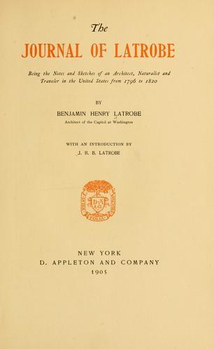 The journal of Latrobe.