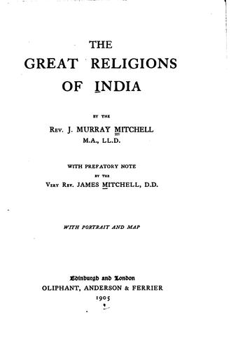 The great religions of India
