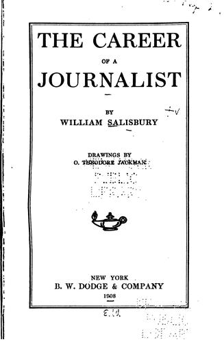 The career of a journalist