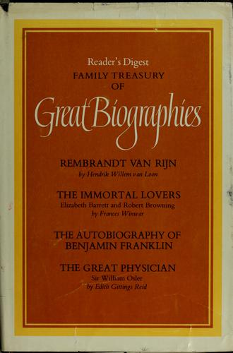 Reader's digest family treasury of great biographies by Margaret Sanger