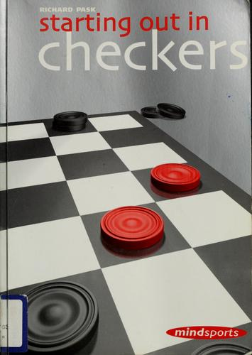 Starting out in checkers by Richard Pask
