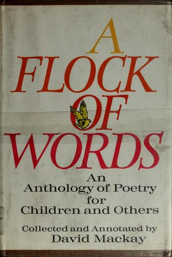 A flock of words by Mackay, David