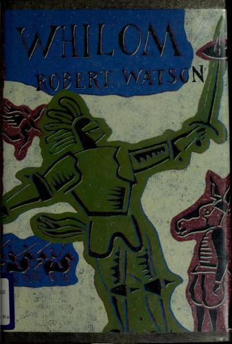 Whilom by Watson, Robert